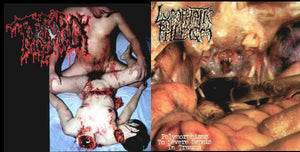 Torsofuck / Lymphatic Phlegm - Disgusting Gore and Pathology / Polymorphisms to Severe Sepsis in Trauma (Vinyl)