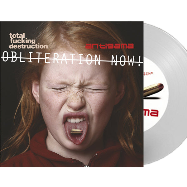 Total Fucking Destruction / Antigama - Obliteration Now! (White Vinyl)