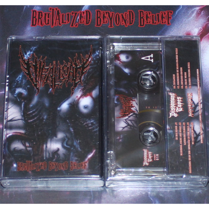 Viral Load - Brutalized Beyond Belief (Cassette)