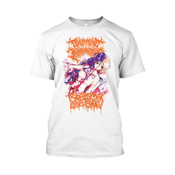 Dehumanizing Itatrain Worship / Cheerleader Concubine - The Divine Union of Serrated Flesh (Shirt)