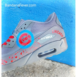 Custom Cubs Air Max 90 Shoes