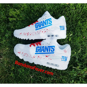 Custom Giants Air Max 90 Shoes
