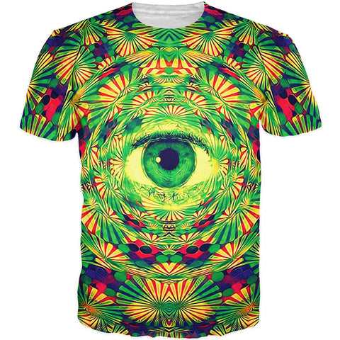 Peppermint Eye Psychedelic T-Shirt