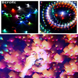 Psychedelic Round Framed Kaleidoscope Glasses