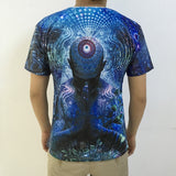 Gratitude For The Earth Psychedelic T-Shirt - Trippyverse