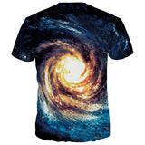 Eye Of The Galaxy Trippy T-Shirt - Trippyverse