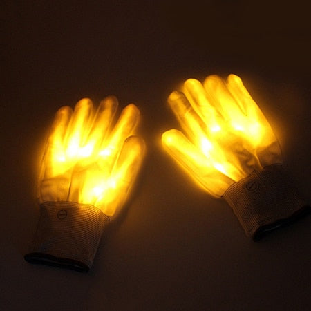 Full Hand LED Rave Gloves - Trippyverse