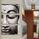 Peaceful Buddha Canvas Art - Trippyverse