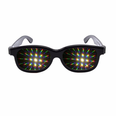 Premium Prism Diffraction Rave Glasses