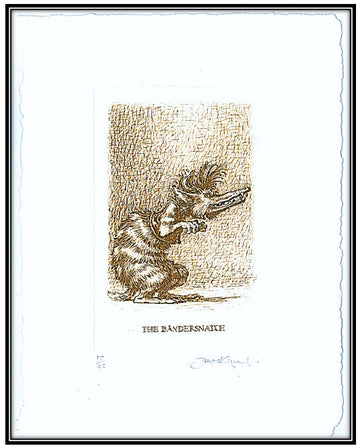 Hunting of the Snark - The Bandersnatch solar print