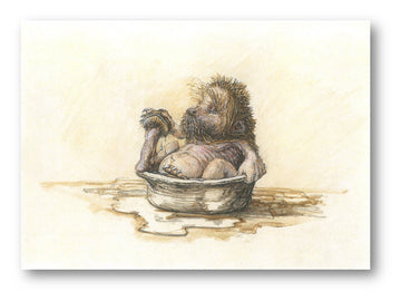 Card 1 - Bathtime