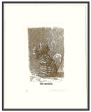 Hunting of the Snark - The Beaver solar print