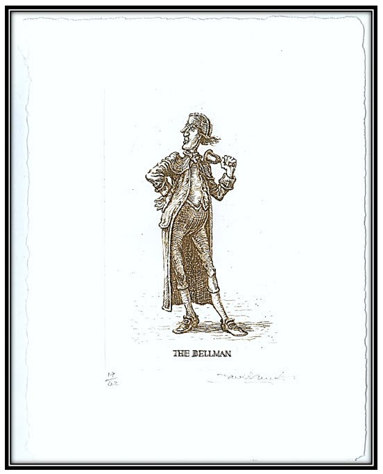 Hunting of the Snark - The Bellman solar print