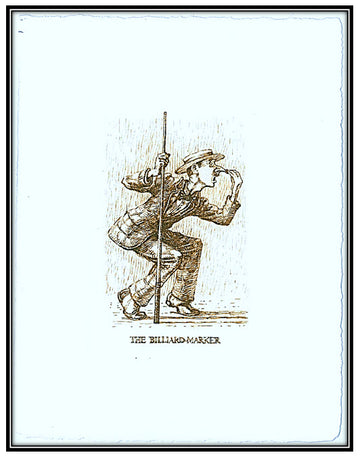 Hunting of the Snark - The Billiard-marker solar print