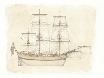 Giclée print - Limited Edition 'Endeavour in Profile'