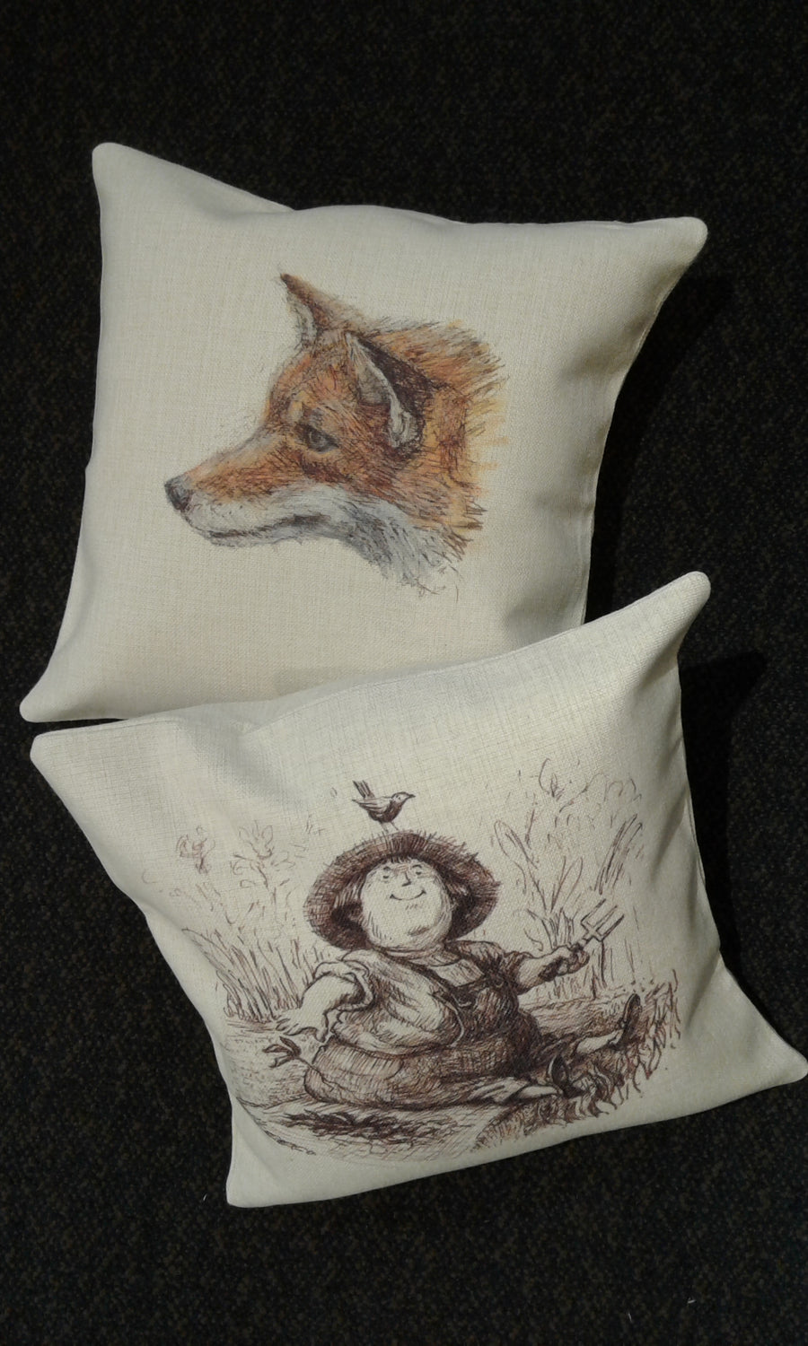Cushion covers - In the Garden