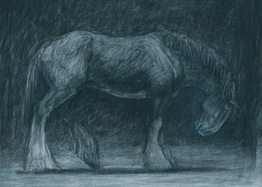 Original art - Heavy horse 'Night Shadows'