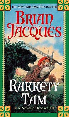 Redwall Rakkety Tam - 'Gulo the Savage meets Rakkety Tam MacBurl' original art
