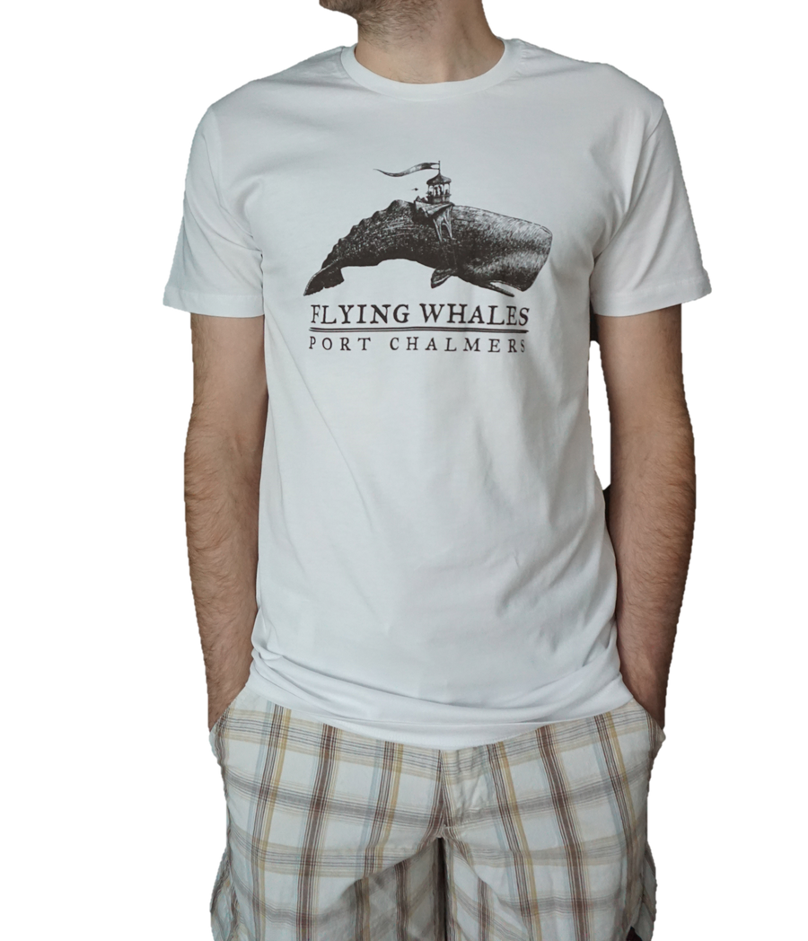 T-shirt - Flying Whale Port Chalmers