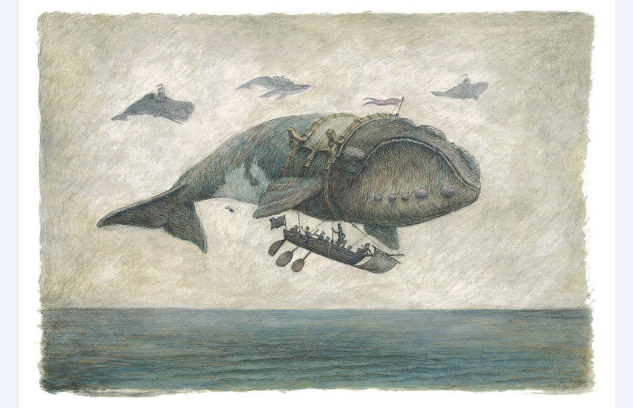 Print 1 - Flying Southern Right Whale