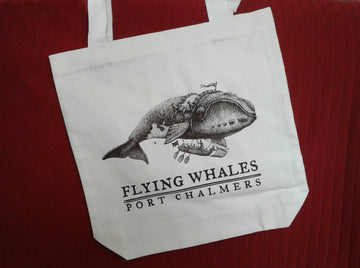 Tote bag - Flying Southern Right Whale