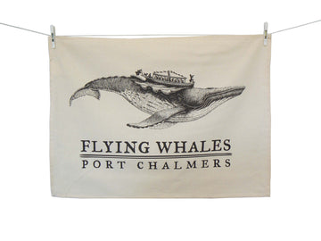 Tea towel - Flying Humpback Whale
