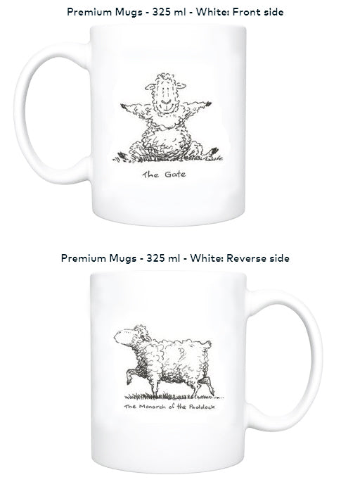 Mugs - Yoga for Sheep