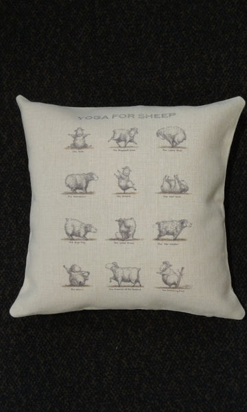 Cushion covers - Yoga for Sheep