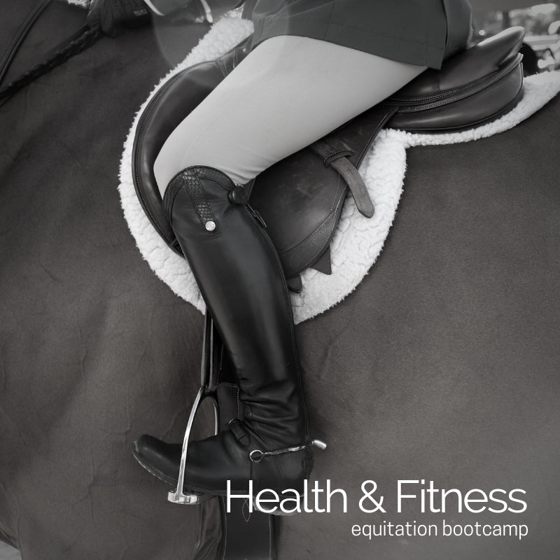 OUT: EQUITATION DIET/ IN: FITNESS FOR FORWARD SEAT RIDING