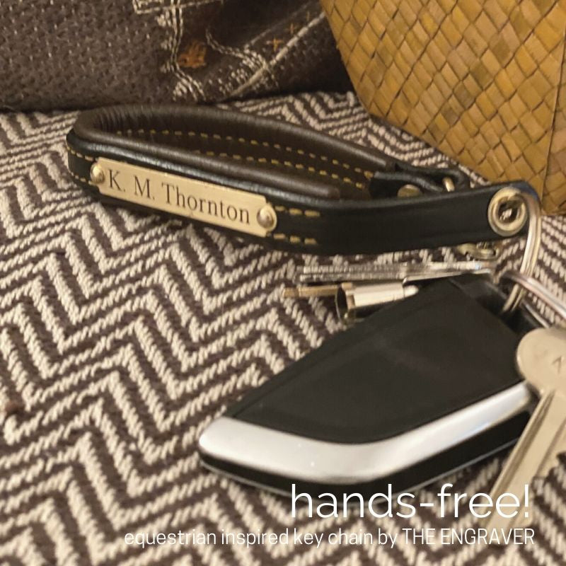 Hands Free! A Stylish Equestrian Inspired Solution