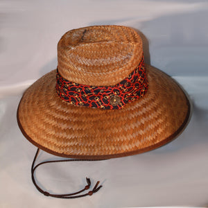Winding Around the Snaffle Wide Brim Sun Hat