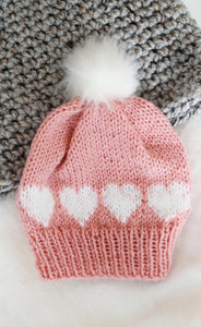 Spread the Love Hat Knitting Pattern