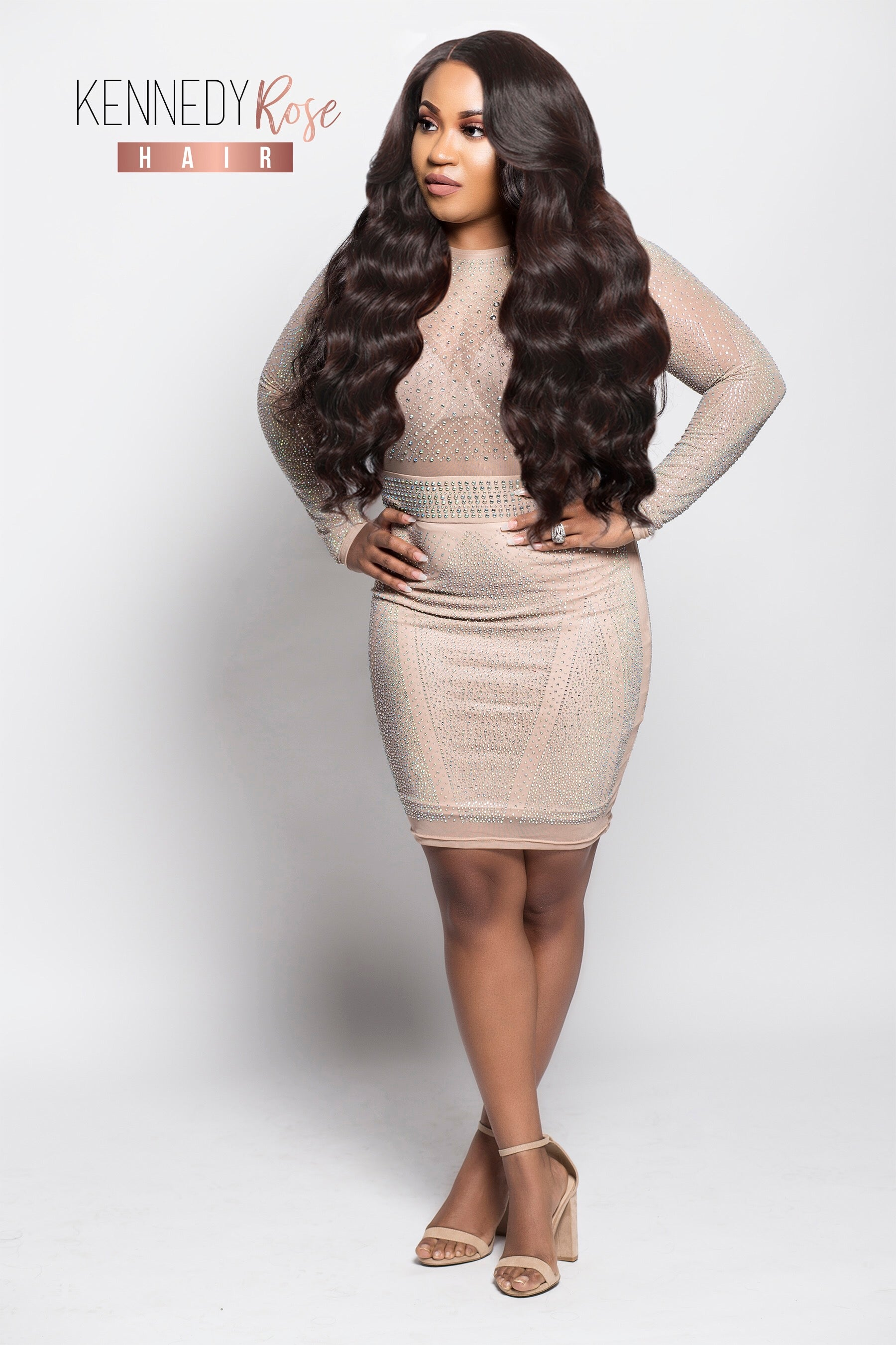 NITRAAB Full Lace Wig BIG BODYWAVE