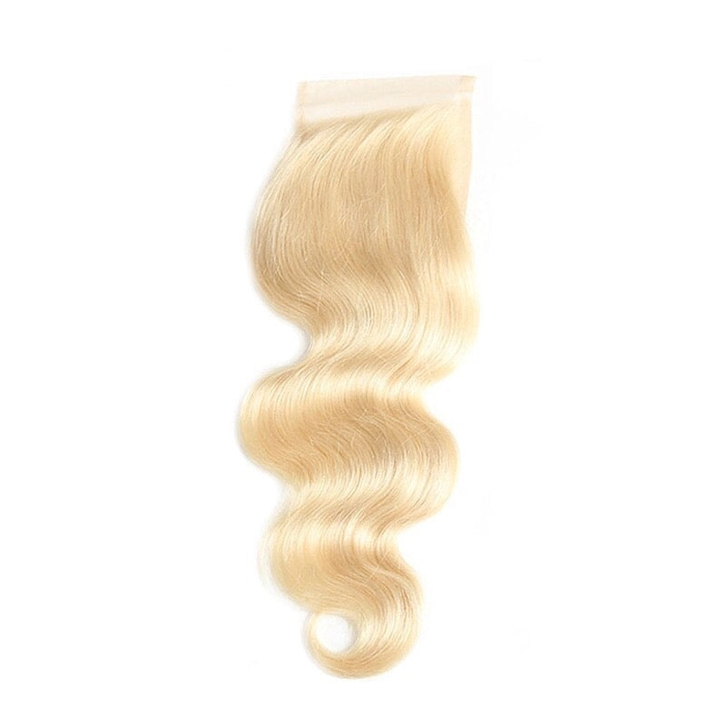 Russian Blonde Lace Closure 4x4 Bodywave