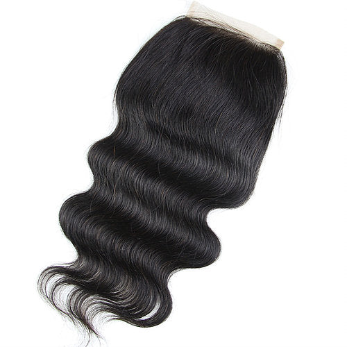 Free Part Lace Closure 5x5 Bodywave with baby hairs