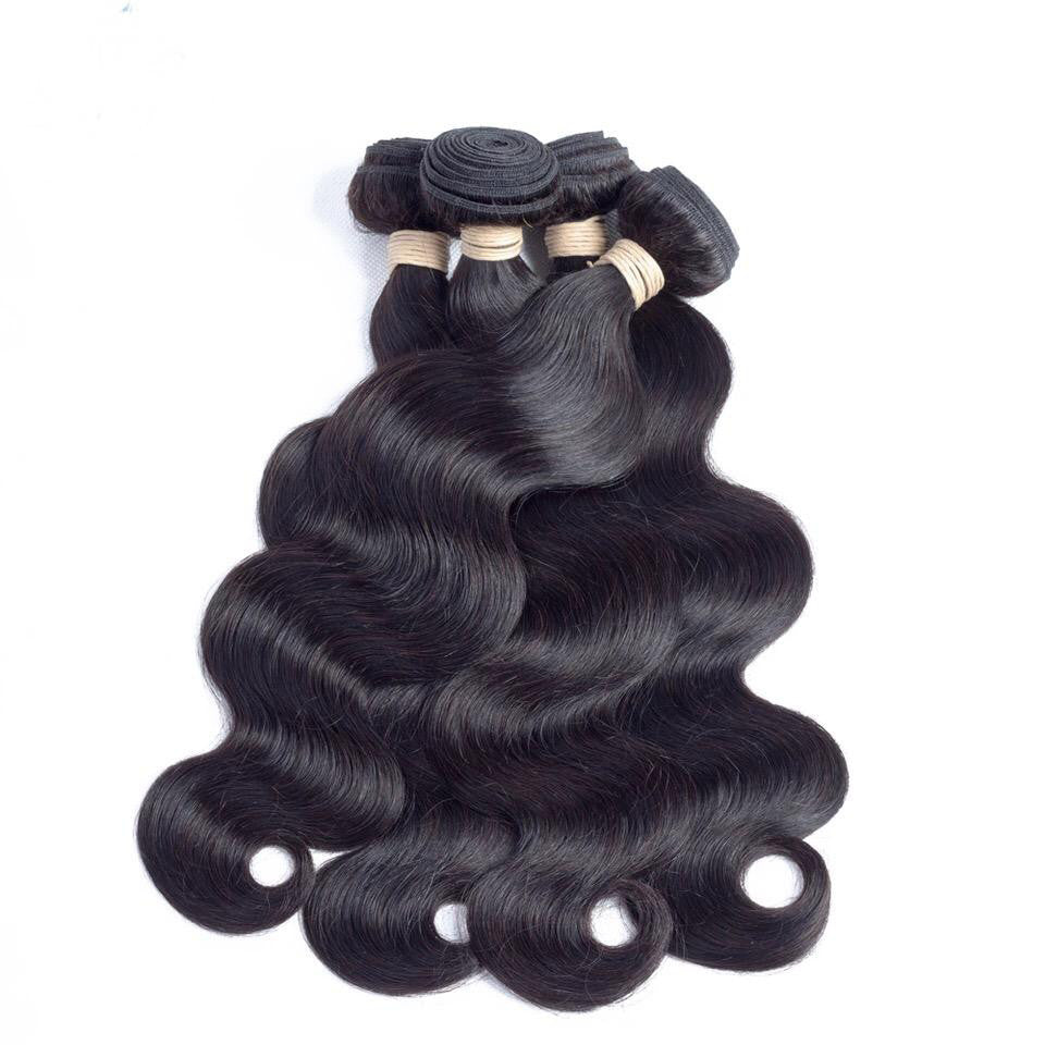 Bundle 3 Bundle Deal of Our Brazilian Hair Extensions with Closure