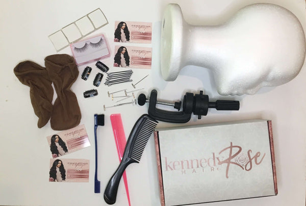 12 Piece Lace Wig Styling Kit