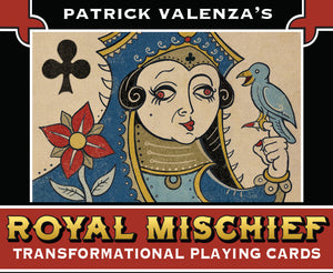UPDATE! Royal Mischief Transformation Playing Cards: Production Samples