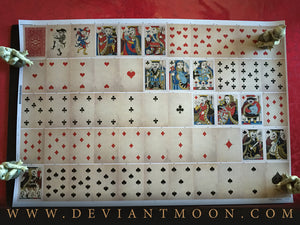 Royal Mischief Playing Cards UNCUT/SIGNED Sheet 1st Edition