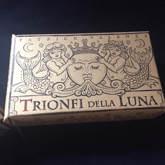 FRANKENSTEIN DECK! Trionfi Della Luna ITALIAN TEXT 1st original prototype batch! 2016