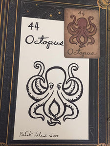 """The Octopus"" Mildred Payne Oracle Original Ink Drawing"