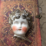NELLY'S HEAD (1860s China Doll Piece)