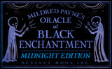 MIDNIGHT EDITION: Oracle of Black Enchantment (1 OPENED but MINT COPY!)