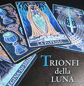 VERY LAST  COPY! Trionfi Della Luna Paradoxical Blue Limited Edition (Italian Text)