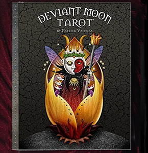 Deviant Moon Tarot Book SIGNED w/ Bonus Card