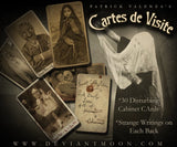 Cartes de Visite (Disturbing Cabinet Cards) Creator's Copies