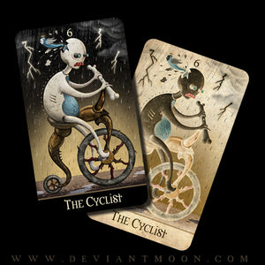 """The Cyclist"" FREE + Shipping Deviant Moon Oracle Prototype Card"