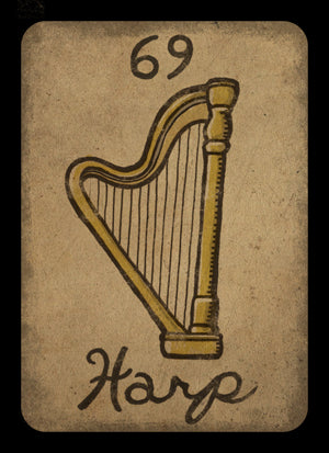 HARP Card #69 ( FREE +Plus Shipping )