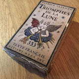 FRENCH TEXT TRIOMPHES de la LUNE—-ONE OPENED COPY