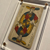 """Strength""-Authentic Antique Tarot Card 1930"